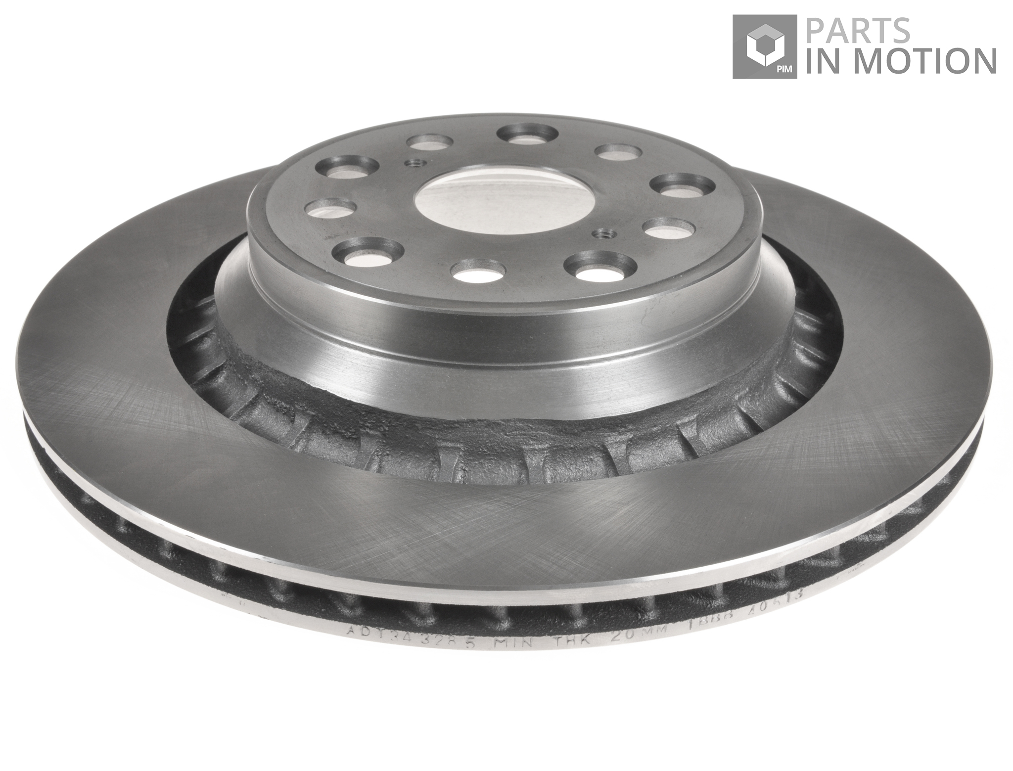 Details about Brake Disc (Single) Vented Rear Left 335mm ADT343285 Blue  Print 4243250010 New