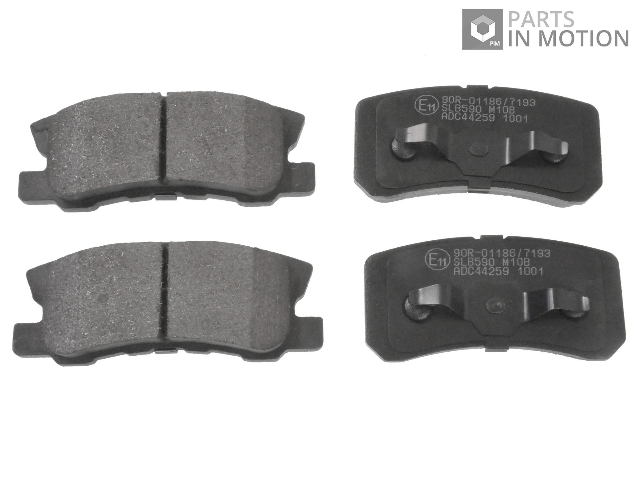 Citroen DS4 2.0 HDi 160 Genuine Braymann Front Brake Pads Set