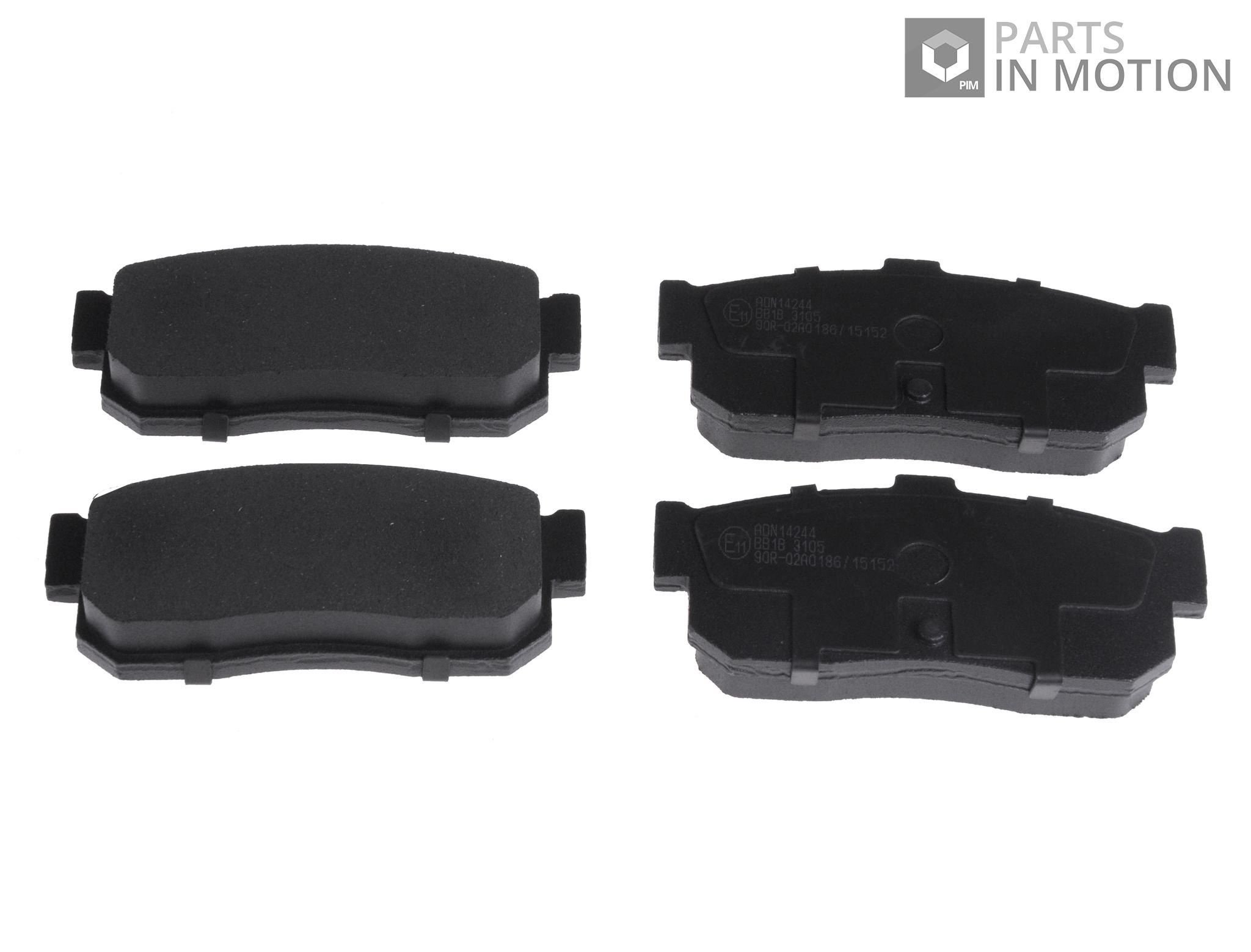 Brake-Pads-Set-fits-NISSAN-SUNNY-N14-2-0-Rear-90-to-96-SR20DE-ADL-Quality-New