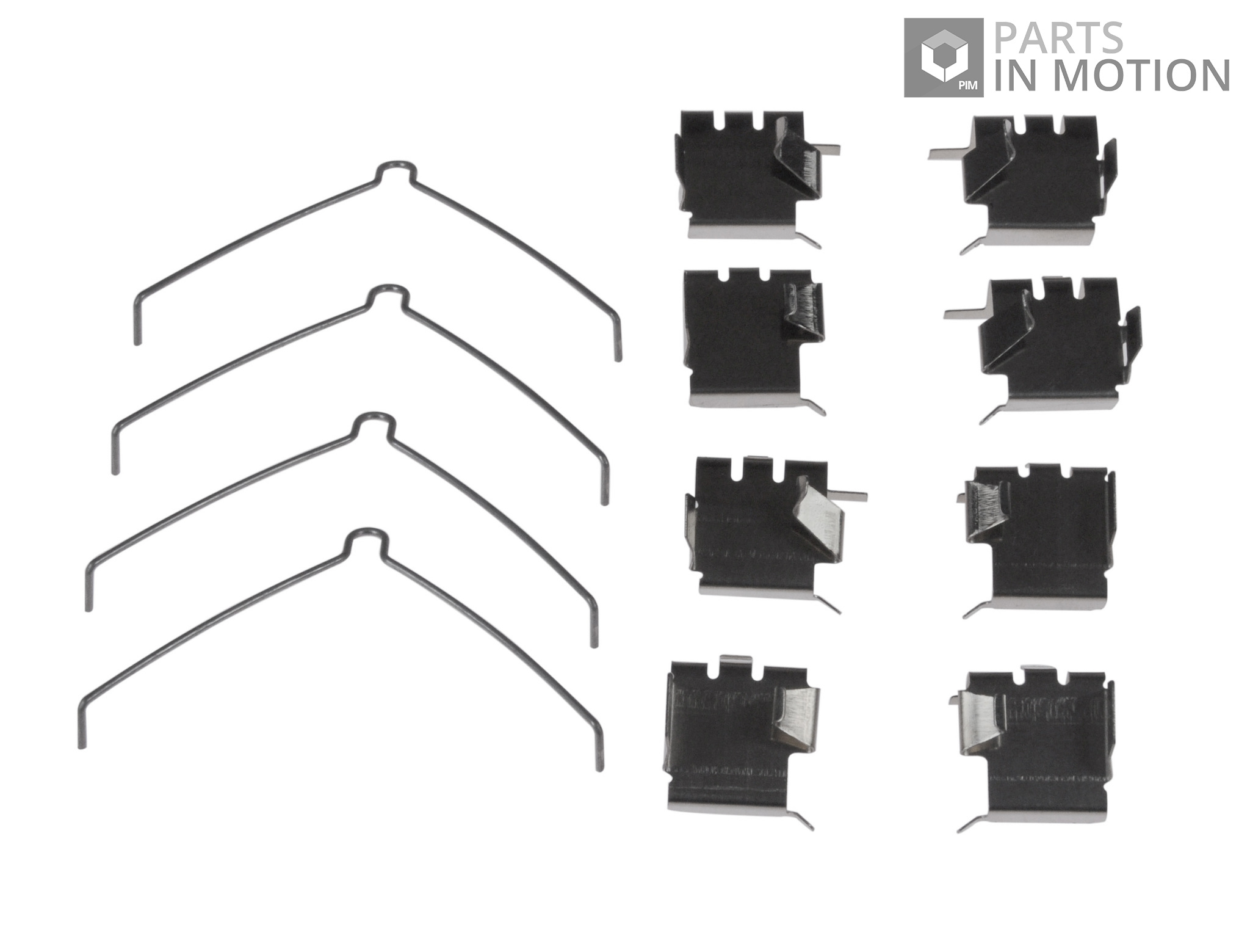 BRAND NEW GENUINE 5 YEAR WARRANTY Delphi Brake Pad Fitting Kit LX0266
