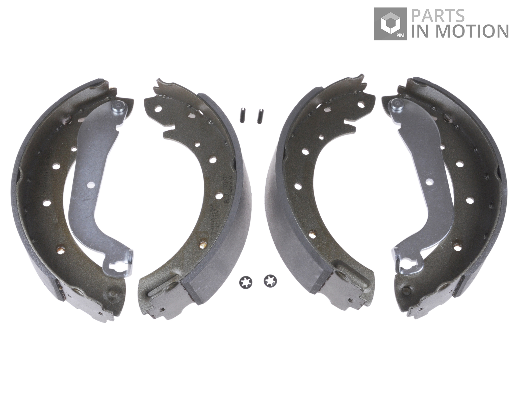 Brake Shoe Thickness In 32nds : Blue print brake shoes rear adn