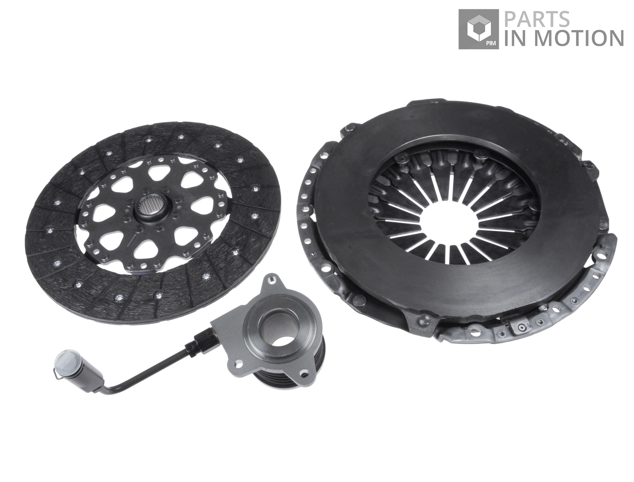 Clutch Kit 3pc Cover+Plate+Releaser fits KIA CEED JD 1.6D 2012 on D4FB LuK New