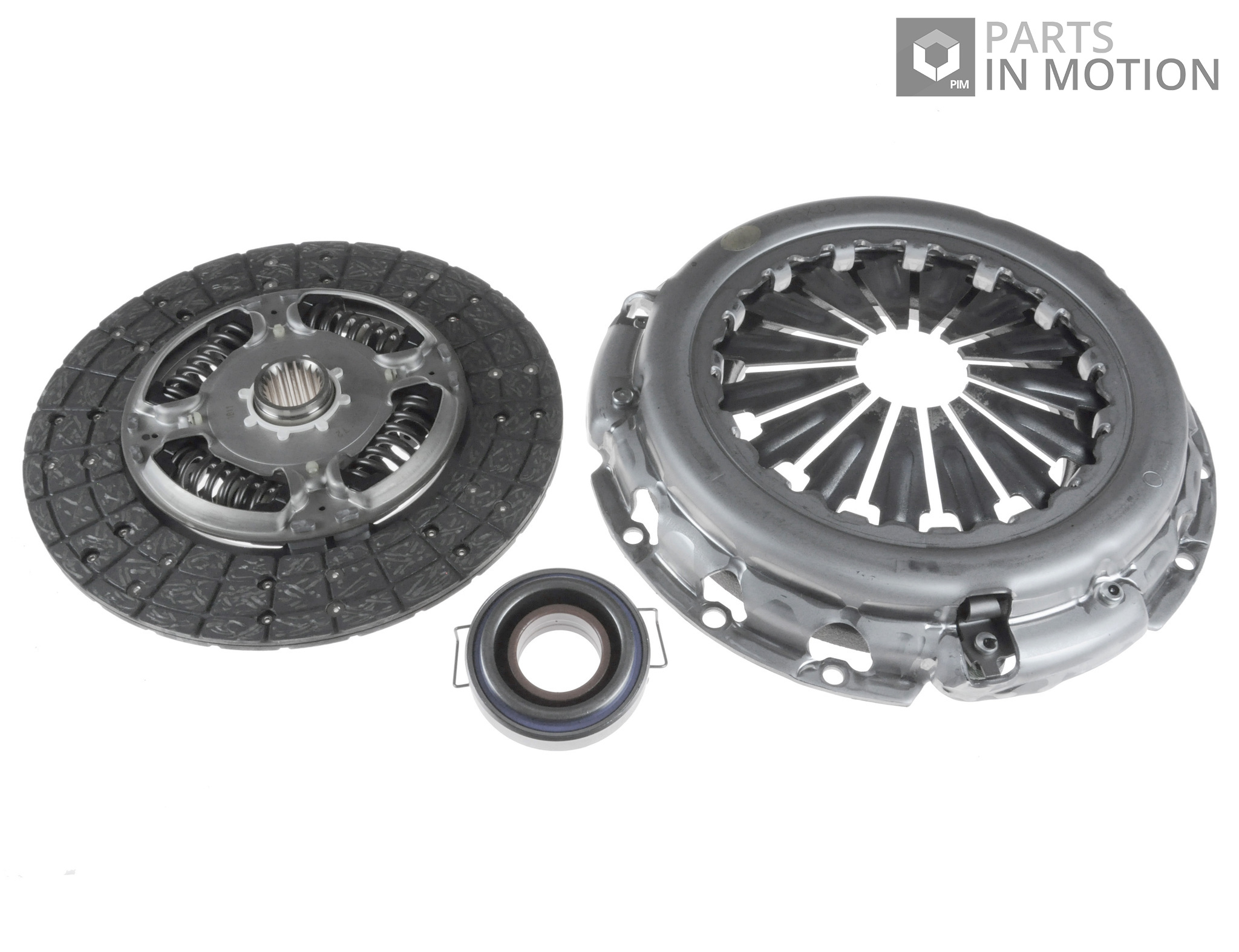 Clutch Kit 3pc Cover+Plate+Releaser fits TOYOTA RAV-4 ACA2 2.0 00 to 05 1AZ-FE