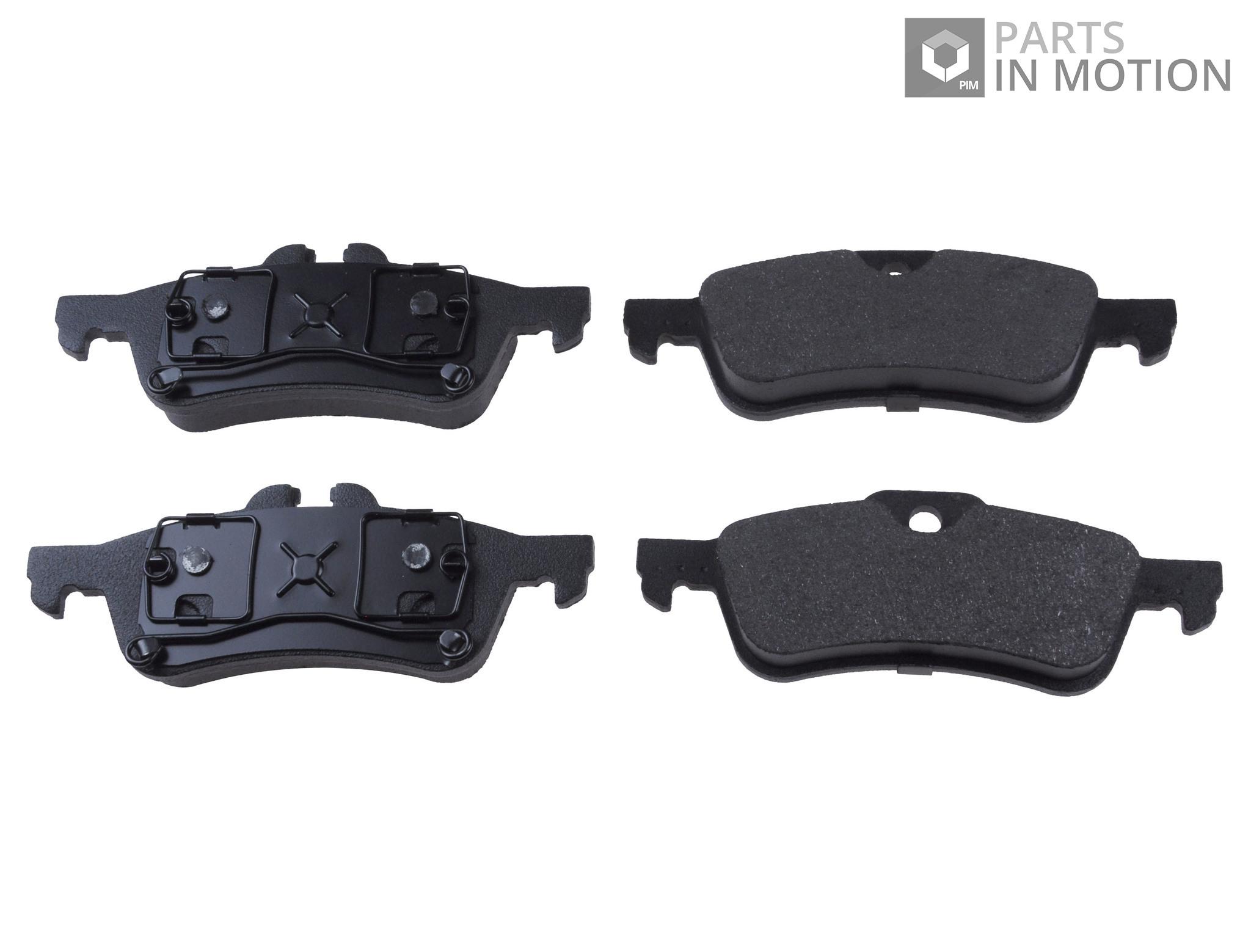 Brake Pads Set fits MINI ONE Rear 1.4 1.4D 03 to 06 ADL 34211503077 34216761288