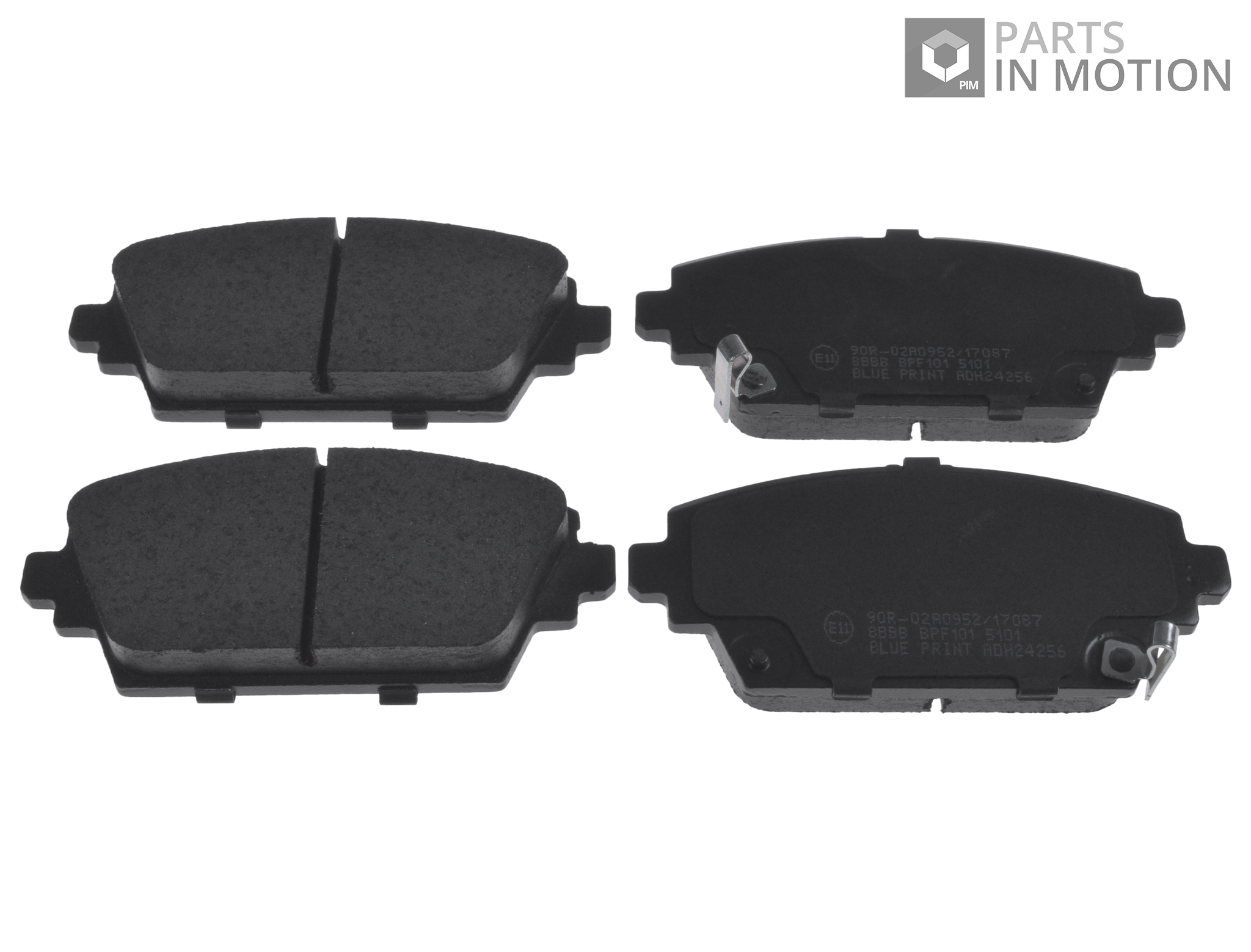 MG ZR 2.0TD Genuine Fahren Rear Brake Pads Set