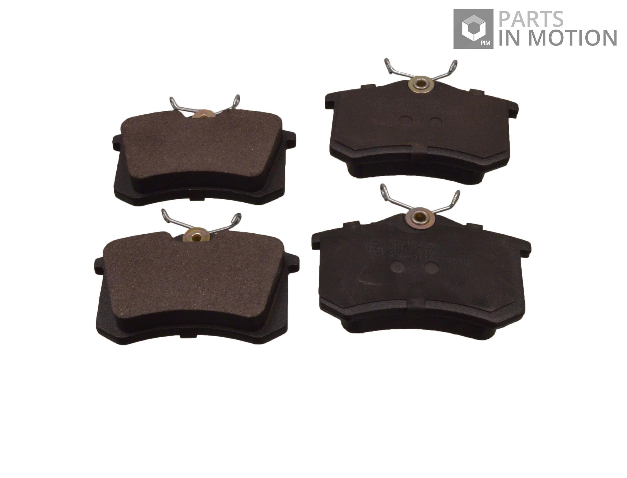 seat ibiza brake pads set rear 2002 on adl 1j0698451j 1j0698451s 1j0698451 new ebay. Black Bedroom Furniture Sets. Home Design Ideas