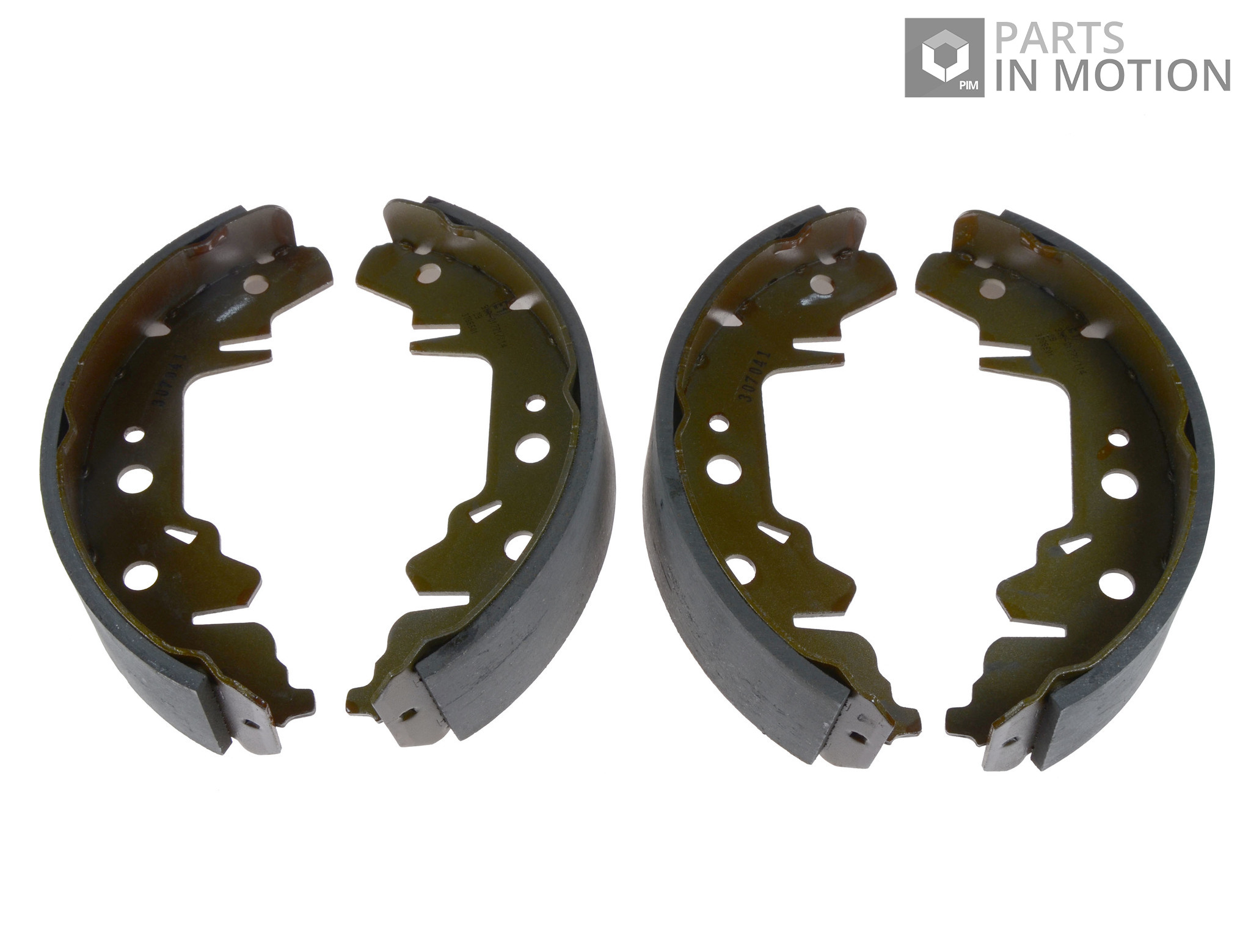 Brake Shoe Thickness In 32nds : Chrysler voyager mk brake shoes rear to egh set