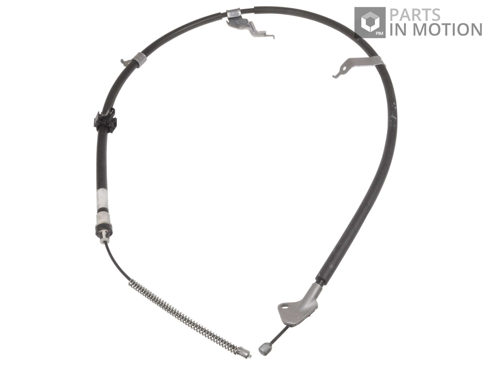 Handbrake Cable fits TOYOTA YARIS P9 1.0 Rear Left 2005 on 1KR-FE Hand Brake ADL