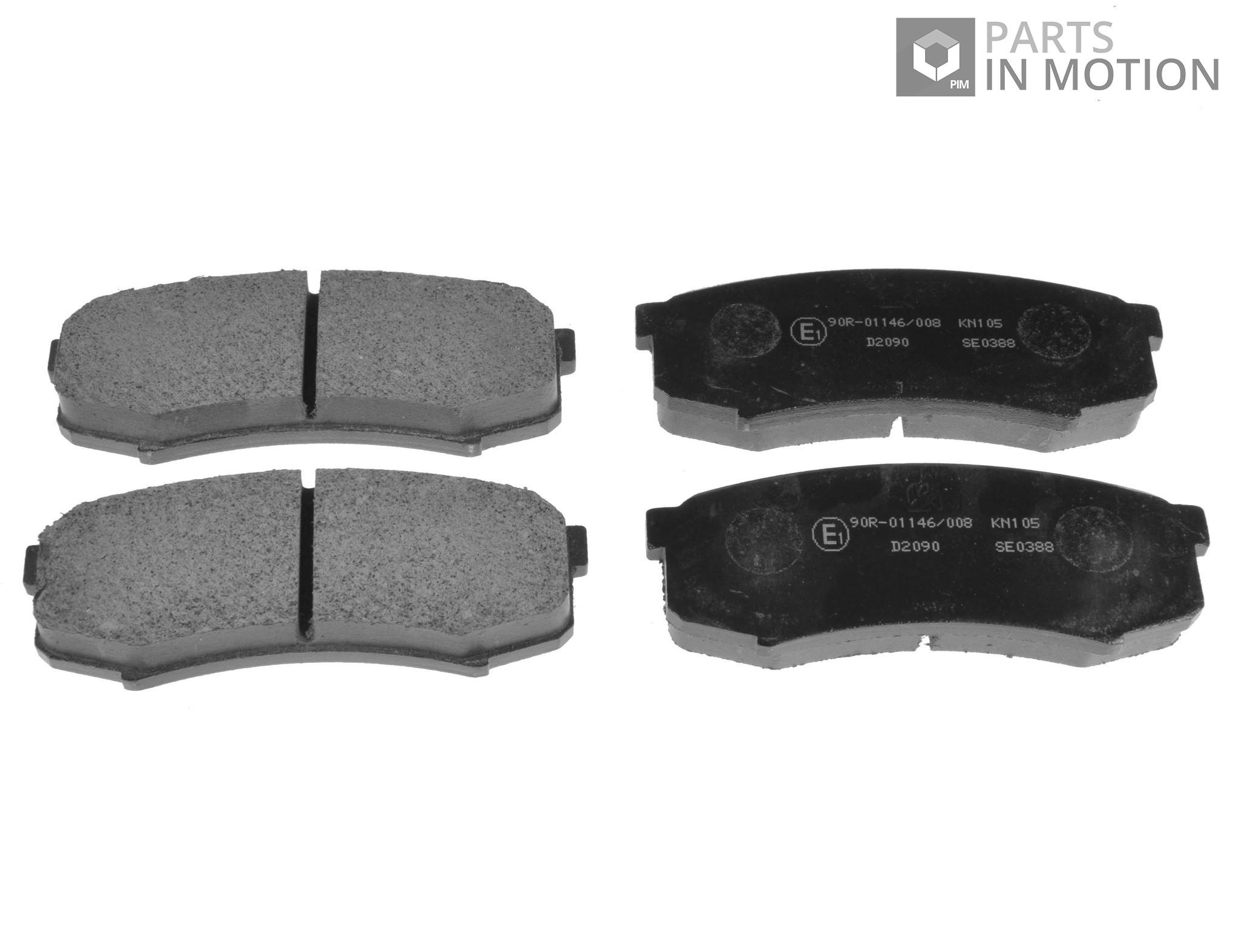 MINTEX REAR BRAKE PADS MDB1696 FOR MITSUBISHI SHOGUN 3.2 TD V98 LWB 2006
