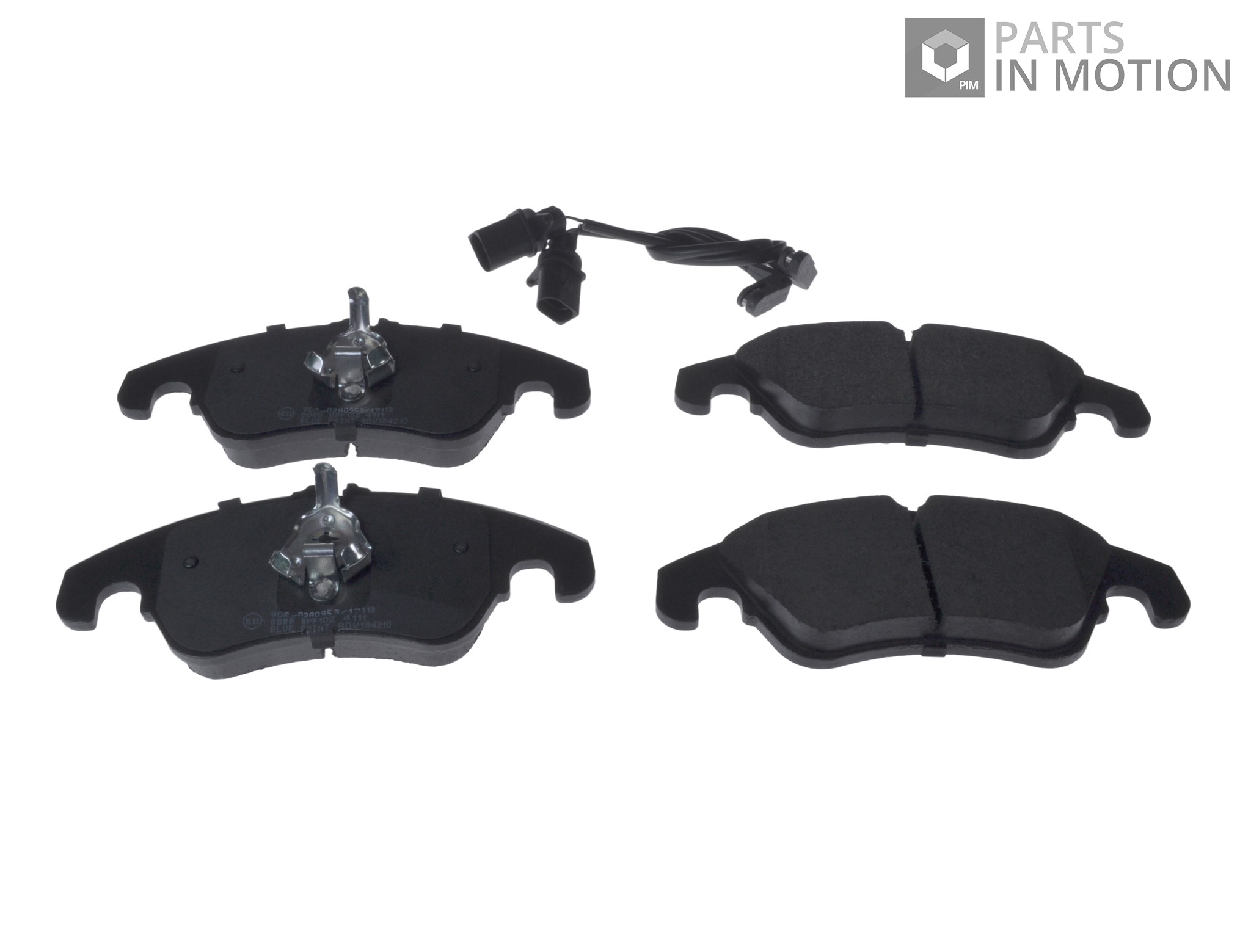 Brake Pads Front for AUDI A6 1.8 2.0 2.8 3.0 TDI C7 4G Delphi