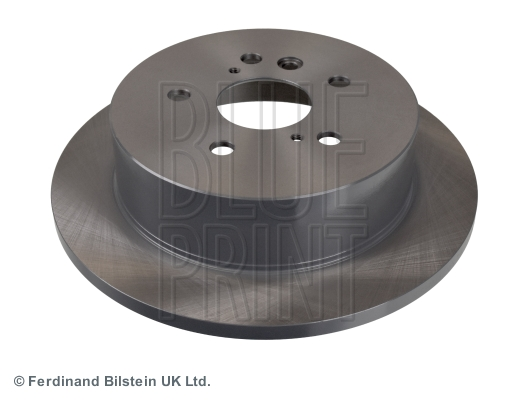 2x Brake Discs (pair) Solid Fits Toyota Previa Mcr40w 3.0 Rear 00 To 05 1mz-fe