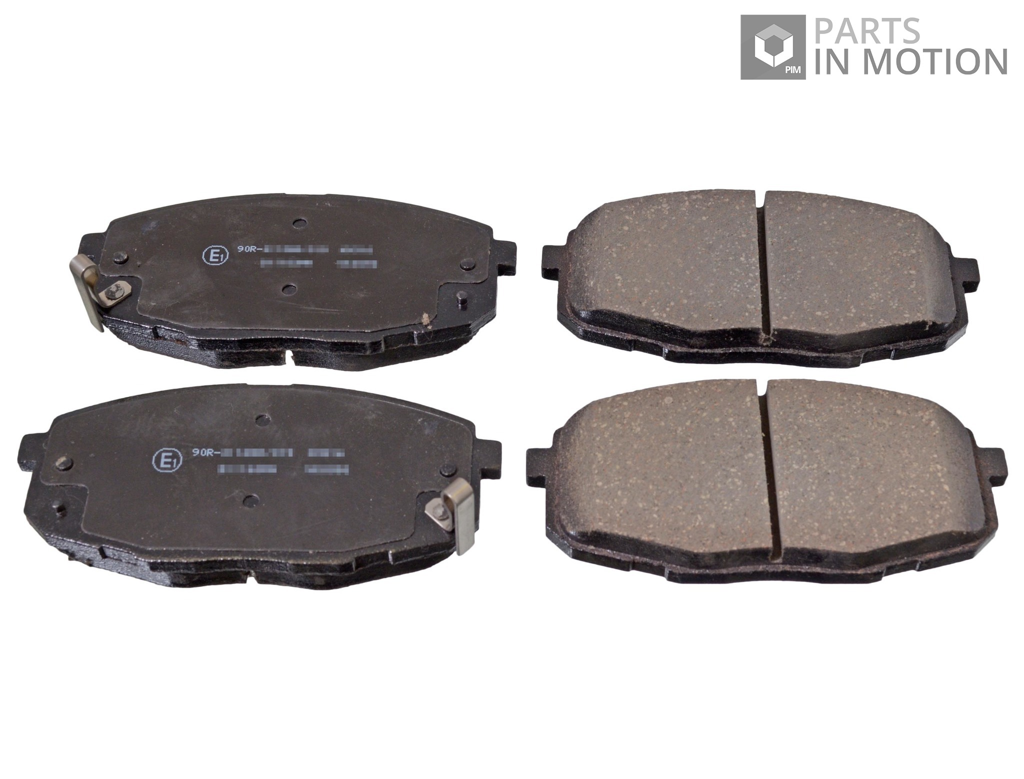 brake pads set fits hyundai i30 front 1 4 1 6 2 0 07 to 12 adg04261 blue print ebay. Black Bedroom Furniture Sets. Home Design Ideas