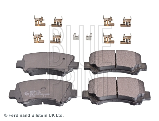 Brake Pads Set fits DFSK LOADHOPPER 1.3 Front 2011 on BG13-20 ADL Quality New