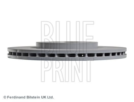 2 Brake Disc internally ventilated front of Holes 5 No Blue Print ADG043214 Brake Disc Set