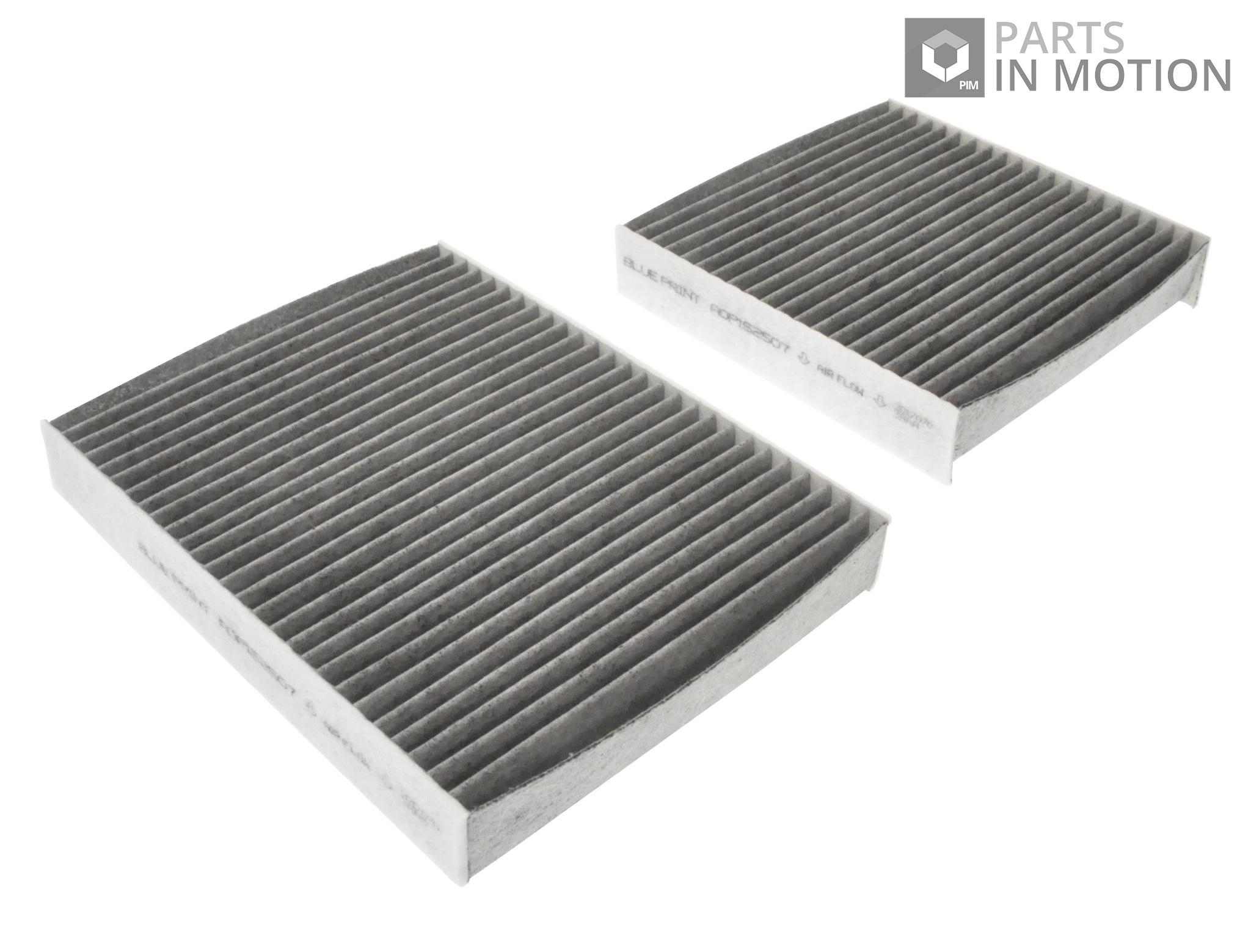 Fits Citroen C3 SC 1.4 HDI Genuine Blue Print Air Cabin Filter Set