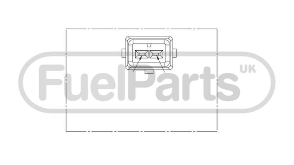 Inductive Fuel Parts Crankshaft Pulse Sensor Genuine OE Quality Replacement
