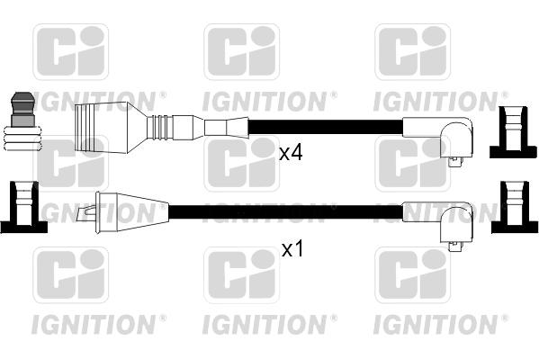 ALFA ROMEO 33 905.A2F 1.5 Cavi Di Accensione HT Lead Set 85 a 86 AR30520 IC Nuovi