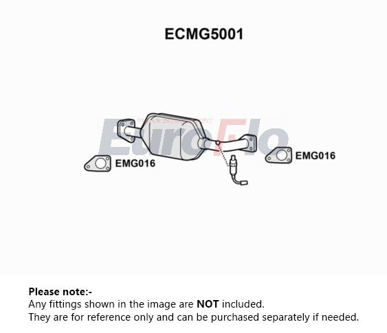 CAT OEM QUALITY FOR MG MG6000 CATALYTIC CONVERTER