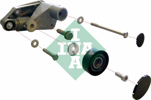 Aux Belt Tensioner fits BMW 328 E46 2.8 98 to 00 Drive V-Ribbed INA 11281722789