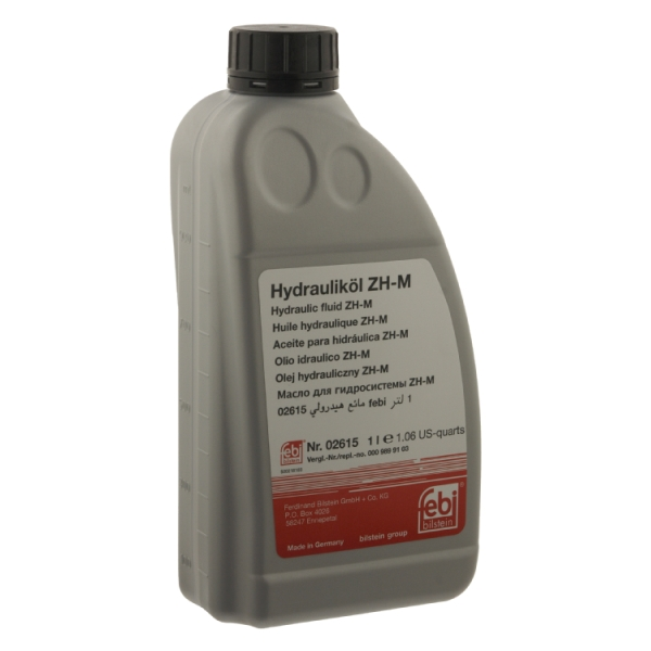 Mercedes benz hydraulic oil 02615 febi mb343 0 ebay for Mercedes benz hydraulic fluid