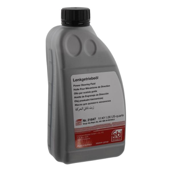 Mercedes benz hydraulic oil 1 l 21647 febi 0019892403 for Mercedes benz hydraulic fluid