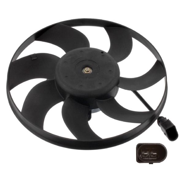 AUDI A3 8P Radiator Fan 03 to 13 Cooling 1K0959455R 1K0959455ES 1K0959455DG Febi