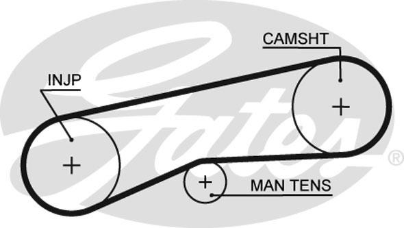 image is loading timing-belt-fits-daihatsu-charade-mk3-1-0d-