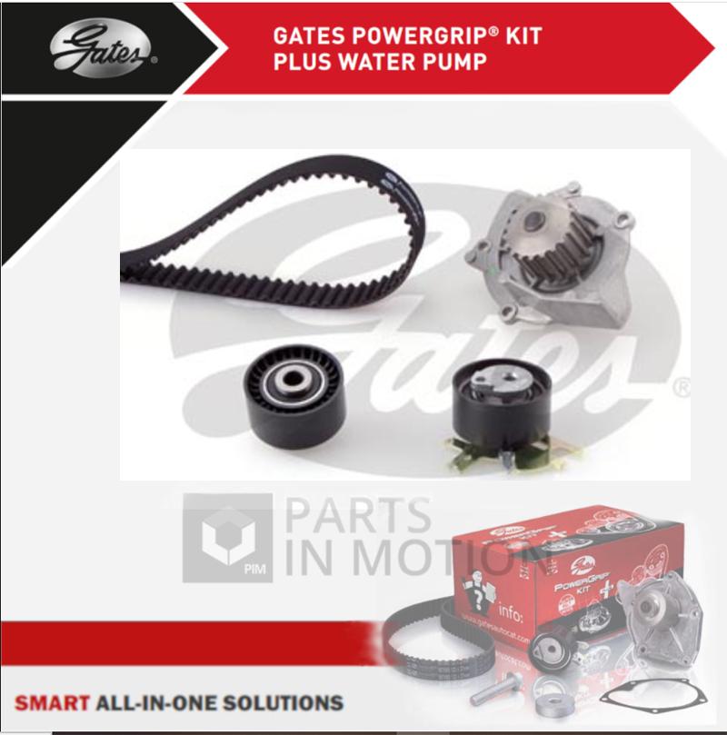 Pompe à eau et Timing Cam Belt Kit de remplacement pour PEUGEOT 307 CC 2.0 16 V