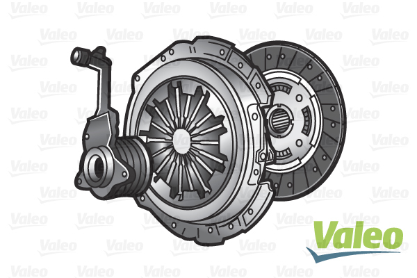 Cover+Plate 05 to 11 D4164T 240mm Sachs VOLVO V50 545 1.6D Clutch Kit 2 piece