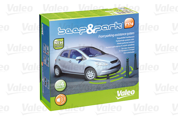 valeo beep and park kit 4 front 632003 parking sensors. Black Bedroom Furniture Sets. Home Design Ideas