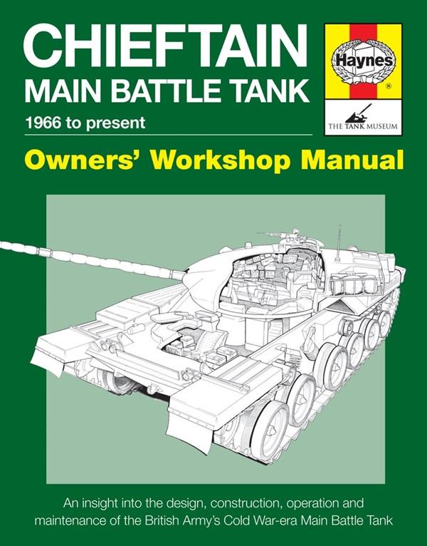 Haynes Chieftain Main Battle Tank H6059 Manuals