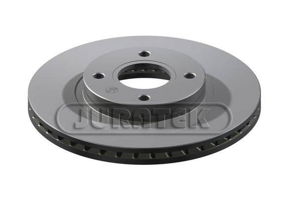 QUALITY JURATEK FRONT BRAKE DISCS /& PADS FORD TRANSIT COURIER 2014 277MM