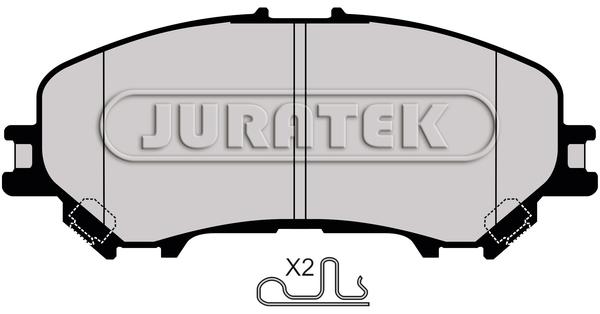 Brake Pads Set fits NISSAN QASHQAI J11 Front 1.6 1.6D 2013 on B/&B 410604EA0A New