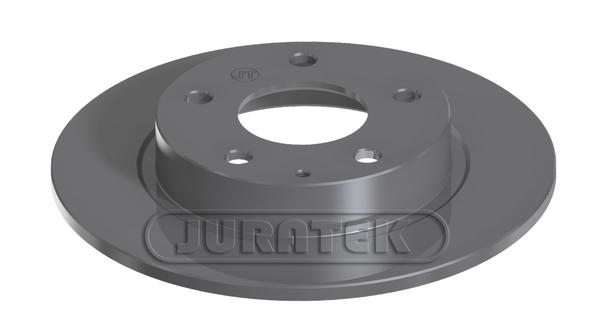2 Brake Disc Blue Print ADM543131  Brake Disc Set full of Holes 5 No rear