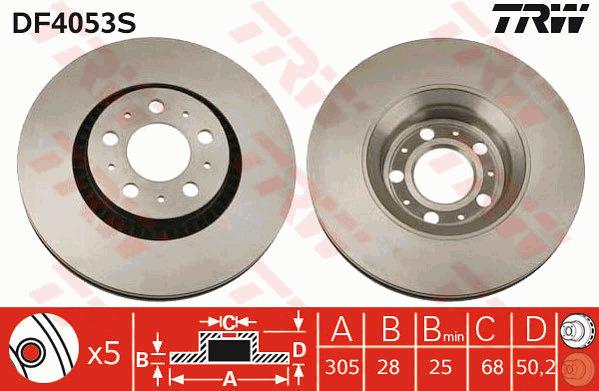 1x Volvo V70 MK1 2.4 Bifuel Genuine Febi Rear Handbrake Parking Brake Cable