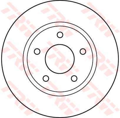 2x Brake Discs Vented 276mm BBD4752 Borg /& Beck Set 5105513AA 4615A115 Pair