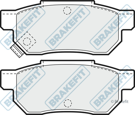 REAR BRAKE PADS  FOR HONDA PRELUDE NP2279