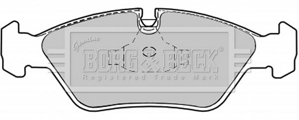 TRW GDB298 Freno Pad Set Freno De Disco Delantero