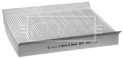 Le Pollen//Cabine Filtre BFC1017 Borg /& Beck 6447FF 9632012680 9632013680 PU1171E