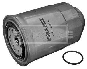 BORG /& BECK Filtre Carburant Pour Toyota Avensis Diesel 2.0 85 kW
