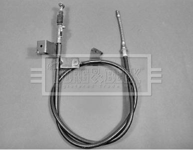 Handbrake Cable fits NISSAN MICRA K11 1.5D 98 to 03 Hand Brake Parking B&B New