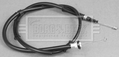 Handbrake Cable fits KIA CARENS Mk2 Rear Left 2.0 2.0D 02 to 06 Hand Brake B/&B