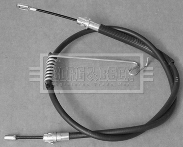 FORD TRANSIT 2.4D Handbrake Cable Rear Left 06 to 14 Hand Brake Parking QH New