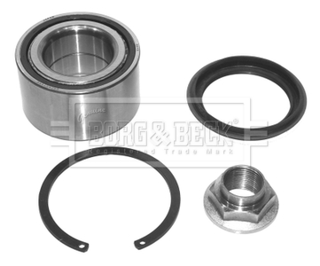 Wheel Bearing Kit fits MAZDA MX-5 NA 1.6 Front 90 to 98 KeyParts Quality New
