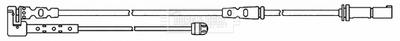 Brake Pad Wear Indicator Sensor BWL3142 Borg & Beck Warning Contact Wire Quality
