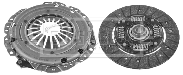 HK2710 Borg /& Beck Genuine Quality Replacement Clutch Kit 2 piece Cover+Plate