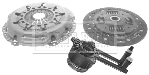 FORD FIESTA Mk6 1.6D Clutch Kit 3pc 2008 on B/&B Quality New Cover+Plate+CSC