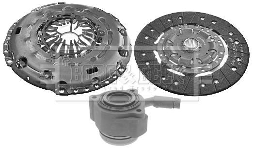 ALFA ROMEO 166 936A3B00 2.0 Clutch Kit 3pc 00 to 07 B/&B Cover+Plate+Releaser