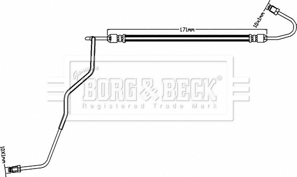 Borg /& Beck BBH7811