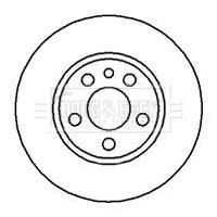 CITROEN DISPATCH 1.9D 2x Brake Discs Vented Front 95 to 06 257mm Set New Pair